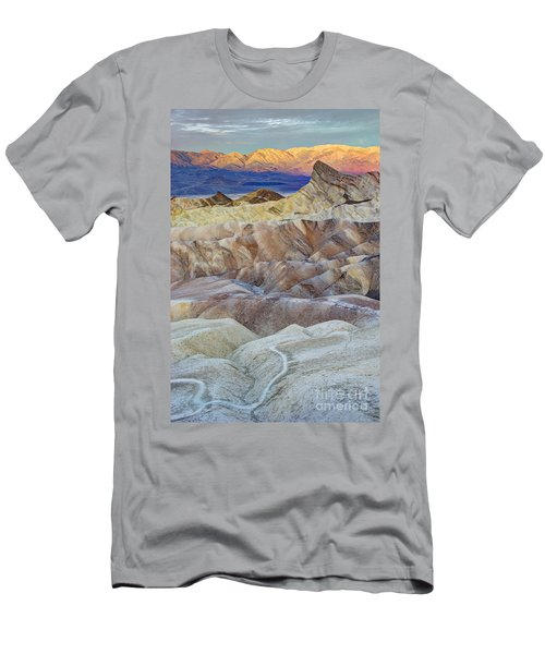 Sunrise In Death Valley Men's T-Shirt (Slim Fit) by Juli Scalzi