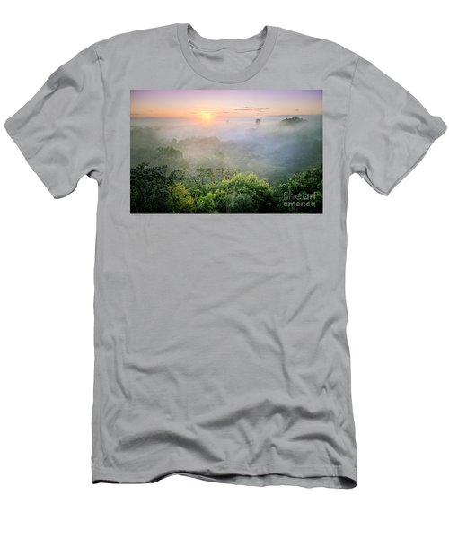 Sunrise In Tikal Men's T-Shirt (Athletic Fit)