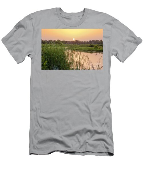 Sunrise Over The Marsh Men's T-Shirt (Athletic Fit)