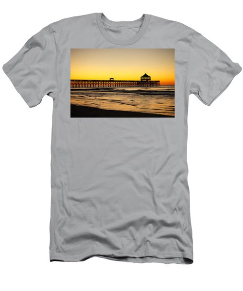 Sunrise Pier Folly Beach Sc Men's T-Shirt (Athletic Fit)