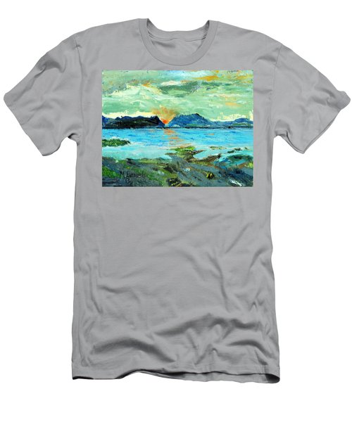 Sunset At Bic Men's T-Shirt (Athletic Fit)
