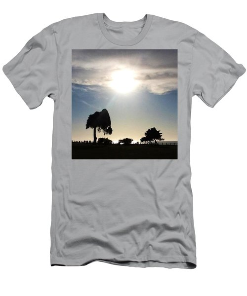 Sunset At La Jolla Men's T-Shirt (Slim Fit) by Susan Garren