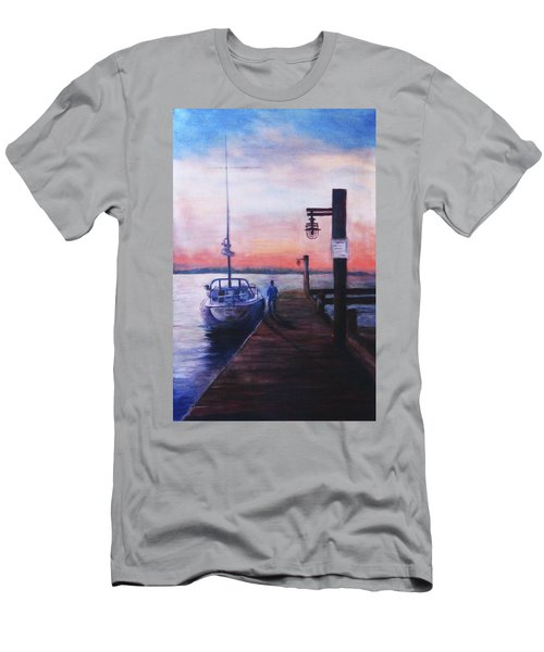 Sunset At Rocky Point Men's T-Shirt (Athletic Fit)
