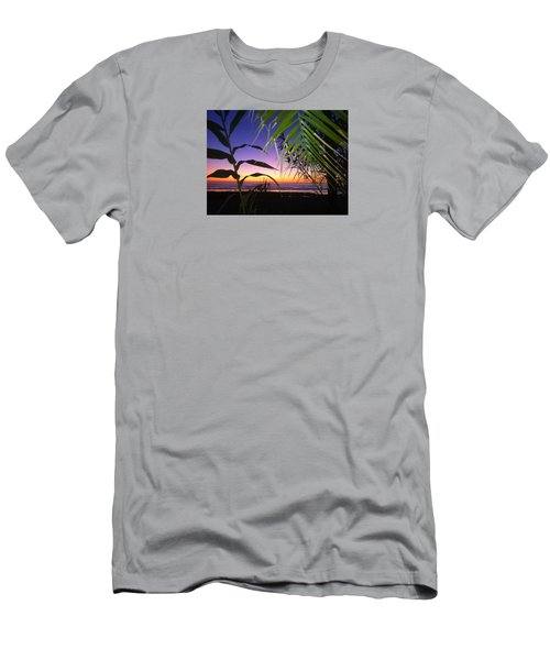 Sunset At Sano Onofre Men's T-Shirt (Athletic Fit)