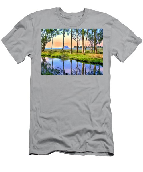 Sunset At Sweet Springs Men's T-Shirt (Athletic Fit)