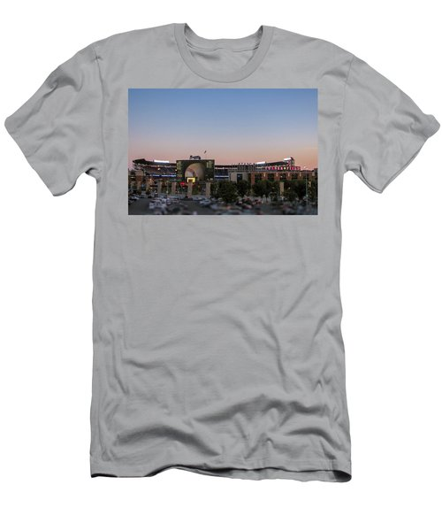 Sunset At Turner Field Men's T-Shirt (Athletic Fit)