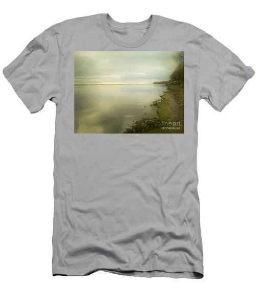 Sunset Before The Storm Men's T-Shirt (Athletic Fit)