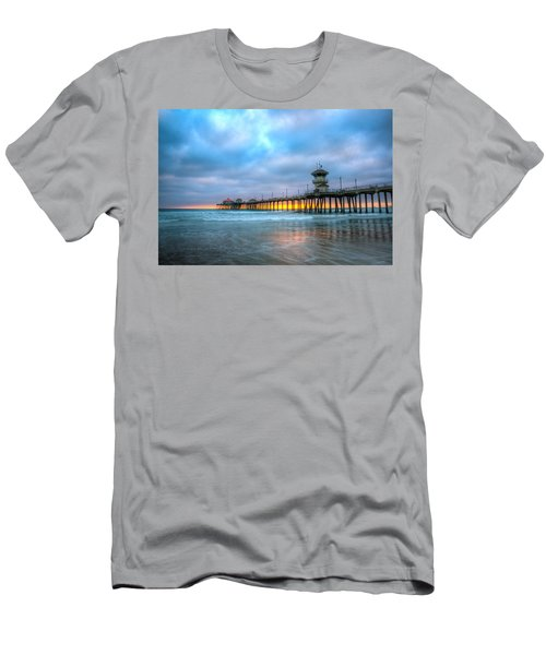 Sunset Beneath The Pier Men's T-Shirt (Athletic Fit)