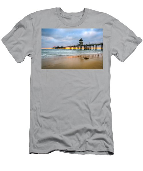 Sunset Drifting Under The Pier Men's T-Shirt (Athletic Fit)