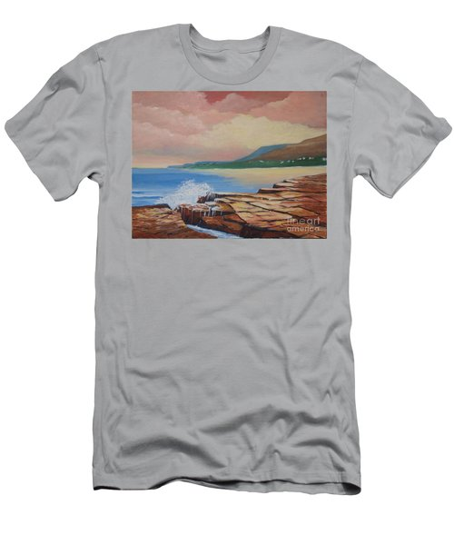 Sunset In New South Wales Men's T-Shirt (Athletic Fit)