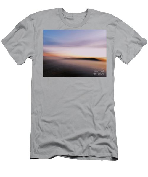 Sunset Island Dreaming Men's T-Shirt (Athletic Fit)