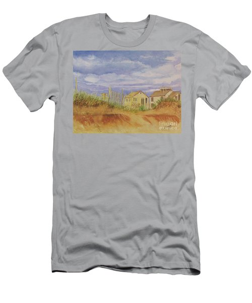 Sunset Nantucket Beach Men's T-Shirt (Athletic Fit)