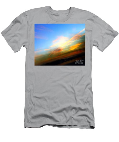 Sunset Reflections - Abstract Men's T-Shirt (Athletic Fit)