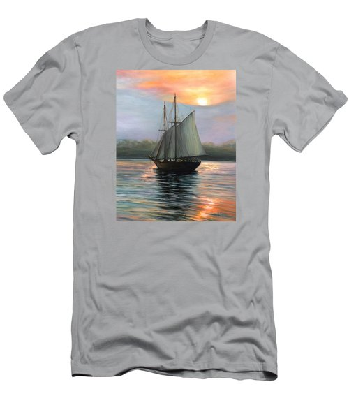 Sunset Sails Men's T-Shirt (Athletic Fit)