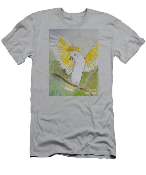 Suphar Crested Cockatoo Men's T-Shirt (Athletic Fit)