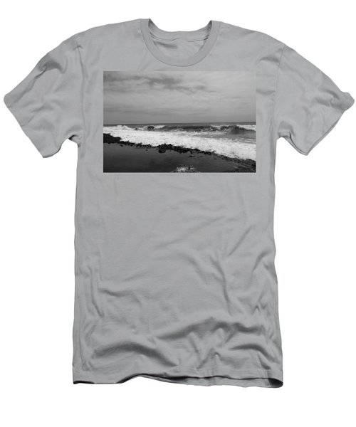 Surf Rolling In  Men's T-Shirt (Athletic Fit)