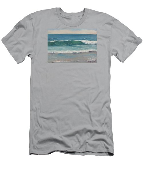 Men's T-Shirt (Slim Fit) featuring the painting Surf Series 5 by Jennifer Boswell