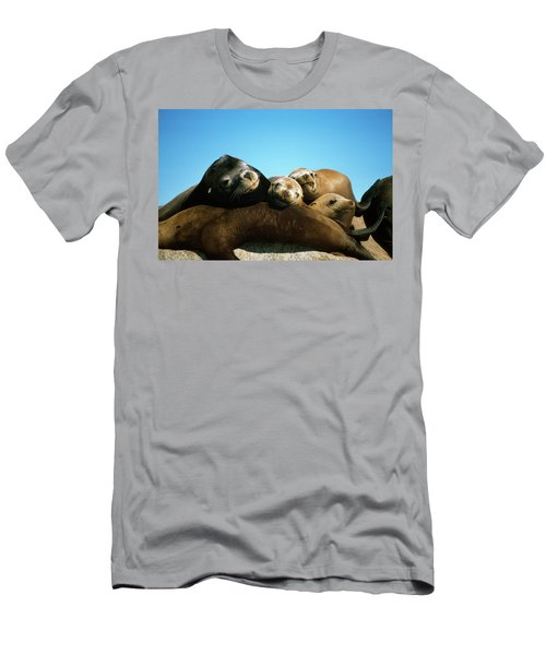 Surface Level View Of California Sea Men's T-Shirt (Athletic Fit)