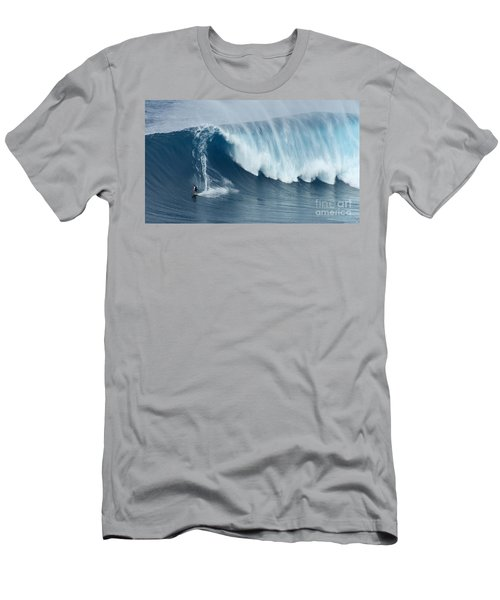 Surfing Jaws 5 Men's T-Shirt (Slim Fit) by Bob Christopher