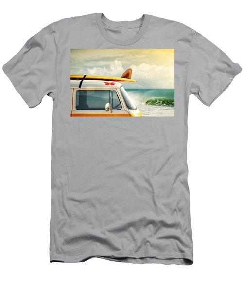 Surfing Way Of Life Men's T-Shirt (Athletic Fit)
