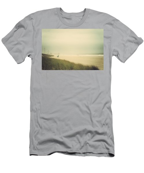 Surf's Up Seaside Park New Jersey Men's T-Shirt (Athletic Fit)