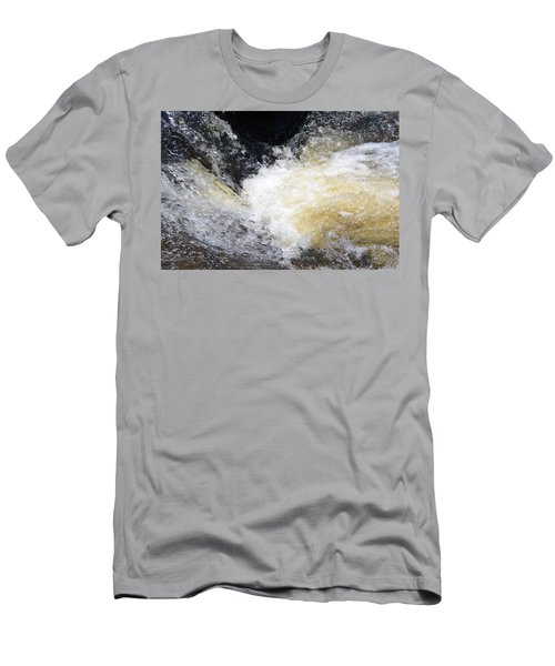 Men's T-Shirt (Slim Fit) featuring the photograph Surging Waters by Tara Potts