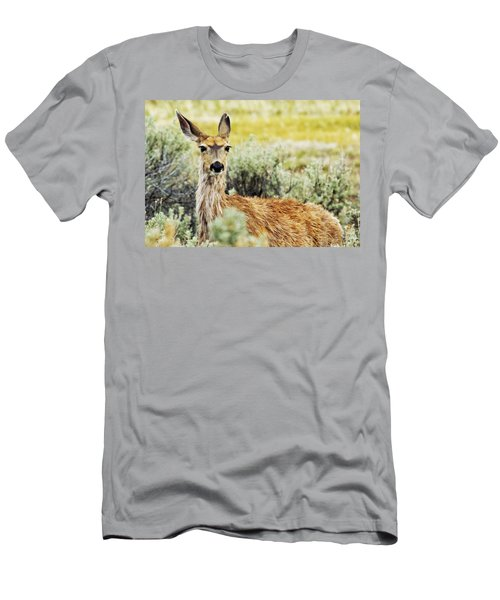 Men's T-Shirt (Athletic Fit) featuring the photograph Surround Sound by Belinda Greb