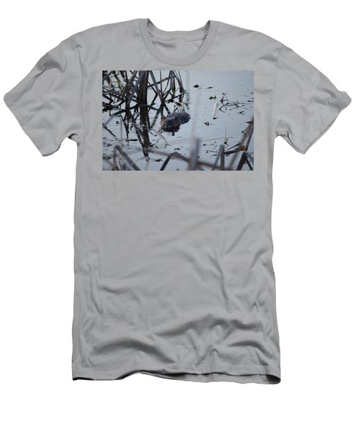 Men's T-Shirt (Slim Fit) featuring the photograph Swimming by James Petersen