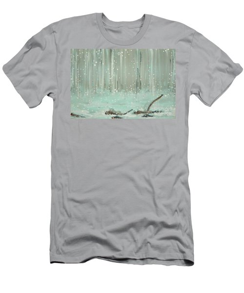 Swimming Leaves Men's T-Shirt (Athletic Fit)