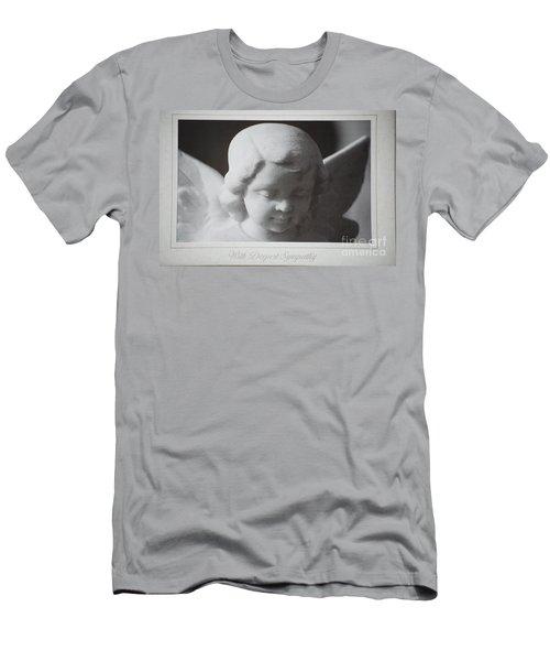 Sympathy      Angel Men's T-Shirt (Athletic Fit)