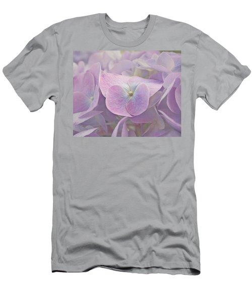 Symphony In Purple Men's T-Shirt (Athletic Fit)