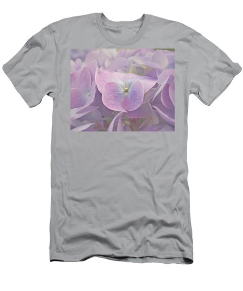 Symphony In Purple Men's T-Shirt (Athletic Fit)