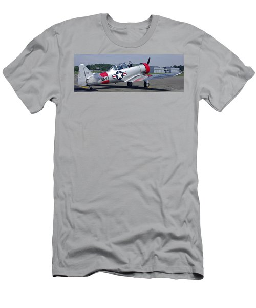 T 6 Navy Trainer Men's T-Shirt (Athletic Fit)