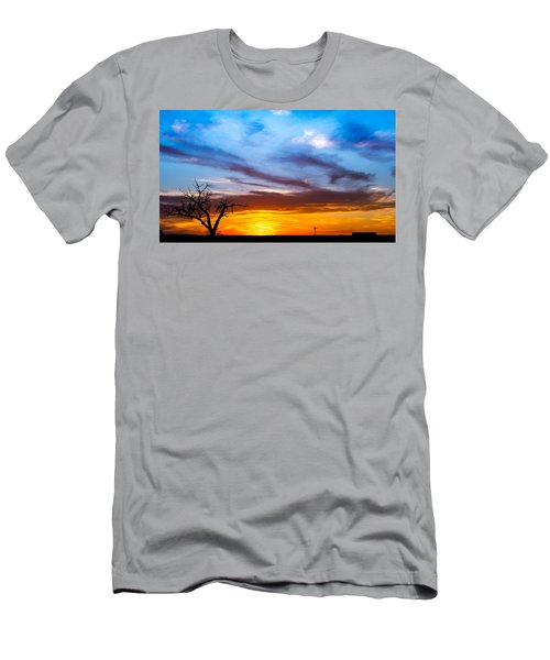 T For Texas  Men's T-Shirt (Athletic Fit)