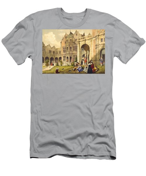 Taking Refreshment On The Terrace Lawn Men's T-Shirt (Athletic Fit)