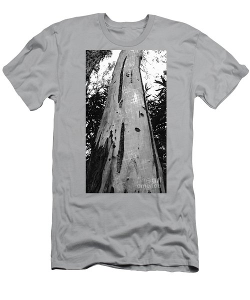 Men's T-Shirt (Slim Fit) featuring the photograph Tall by Clare Bevan
