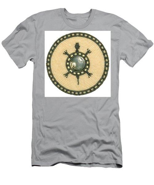 Tan Indian Turtle Men's T-Shirt (Athletic Fit)
