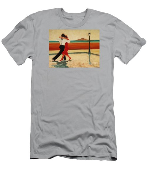 Tango Heat Men's T-Shirt (Slim Fit) by Janet McDonald