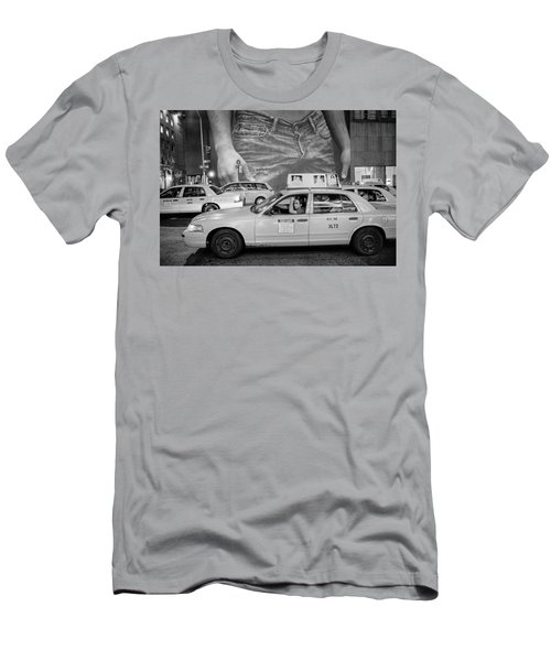 Taxis On Fifth Avenue Men's T-Shirt (Athletic Fit)