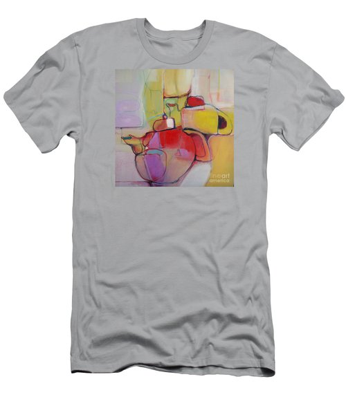 Men's T-Shirt (Athletic Fit) featuring the painting Tea For Two by Michelle Abrams