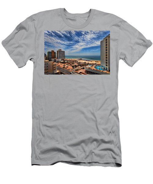 Tel Aviv Summer Time Men's T-Shirt (Athletic Fit)