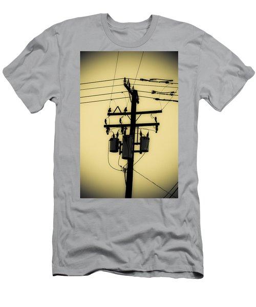 Telephone Pole 3 Men's T-Shirt (Athletic Fit)