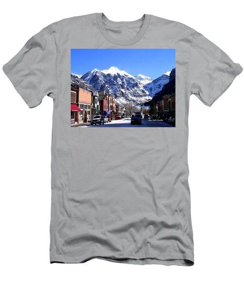 Telluride Colorado Men's T-Shirt (Athletic Fit)