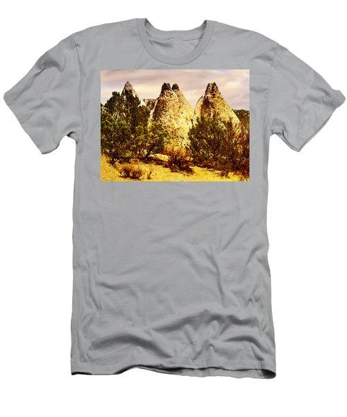 Tent Rocks National Monument Men's T-Shirt (Athletic Fit)