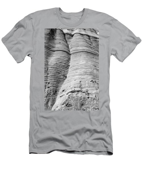 Tent Rocks Wall Men's T-Shirt (Athletic Fit)