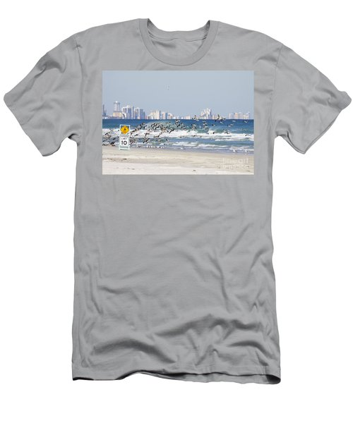Terns On The Move Men's T-Shirt (Athletic Fit)