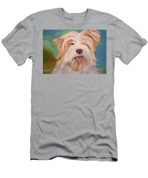 Terrier Portrait Men's T-Shirt (Athletic Fit)