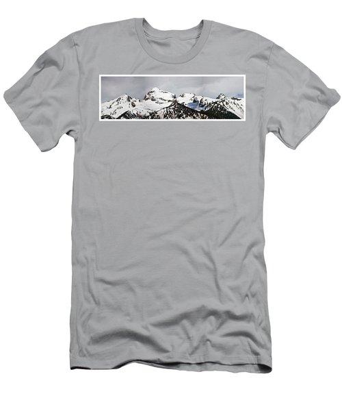 Tetons Panorama Men's T-Shirt (Athletic Fit)