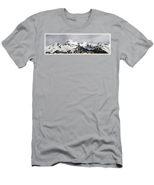 Tetons Panorama Men's T-Shirt (Athletic Fit)
