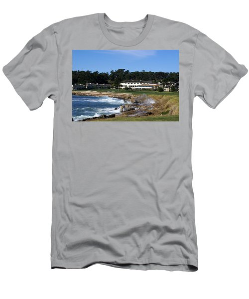 The 18th At Pebble Beach Men's T-Shirt (Athletic Fit)